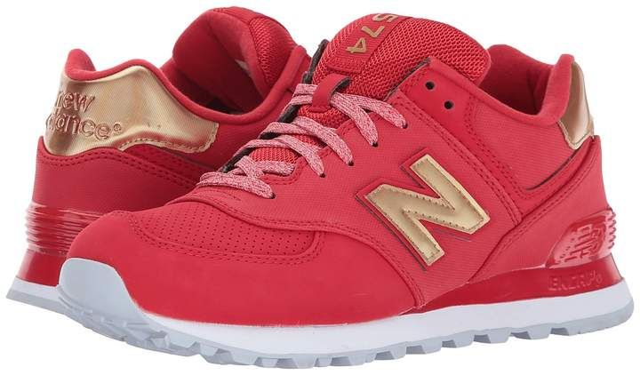 New Balance Classics WL574 Women s Lace up casual Shoes  ae175315284