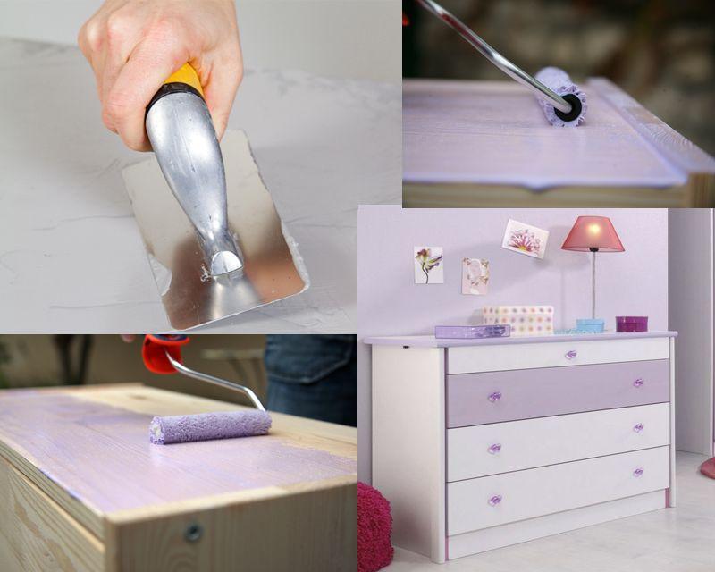 comment laquer un meuble en bois deco diy et. Black Bedroom Furniture Sets. Home Design Ideas