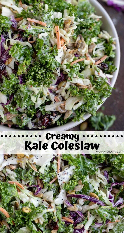 Kale Slaw Salad Recipe