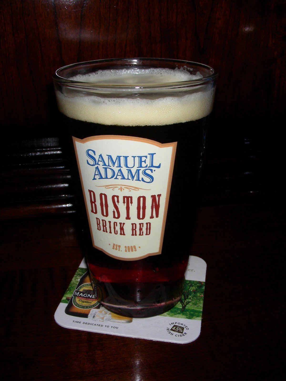 Samuel Adams Brick Red Boston Beer Company Irish Ale 5 20 3