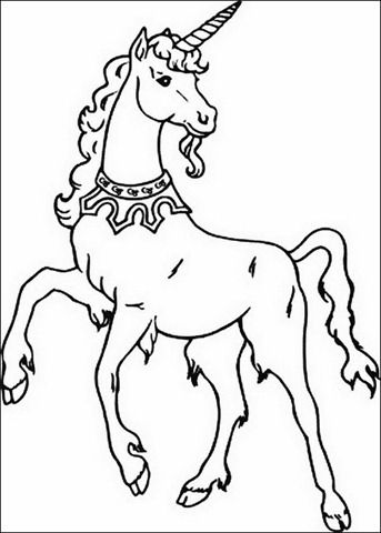 Coloring Pages For Kids Of All Ages Unicornio Desenho