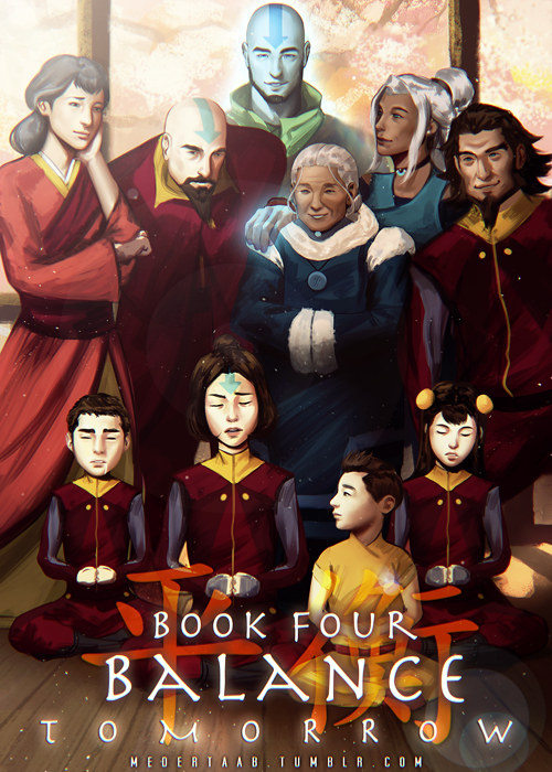 """medertaab: The Legend of Korra's Final Book Countdown """"…I see a very bright future for the Air Nation."""""""