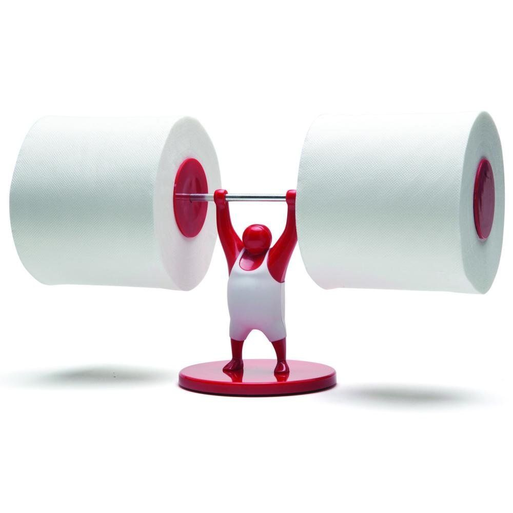 Amazon Com Mr T Designed Strong Man Weightlifter Bathroom Toilet Paper Tissue Roll Holder Red Toilet Paper Holder Paper Holder Unique Toilet Paper Holder