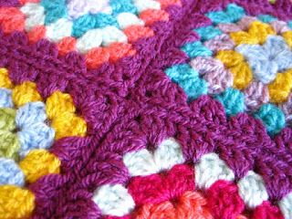 Joining granny squares together