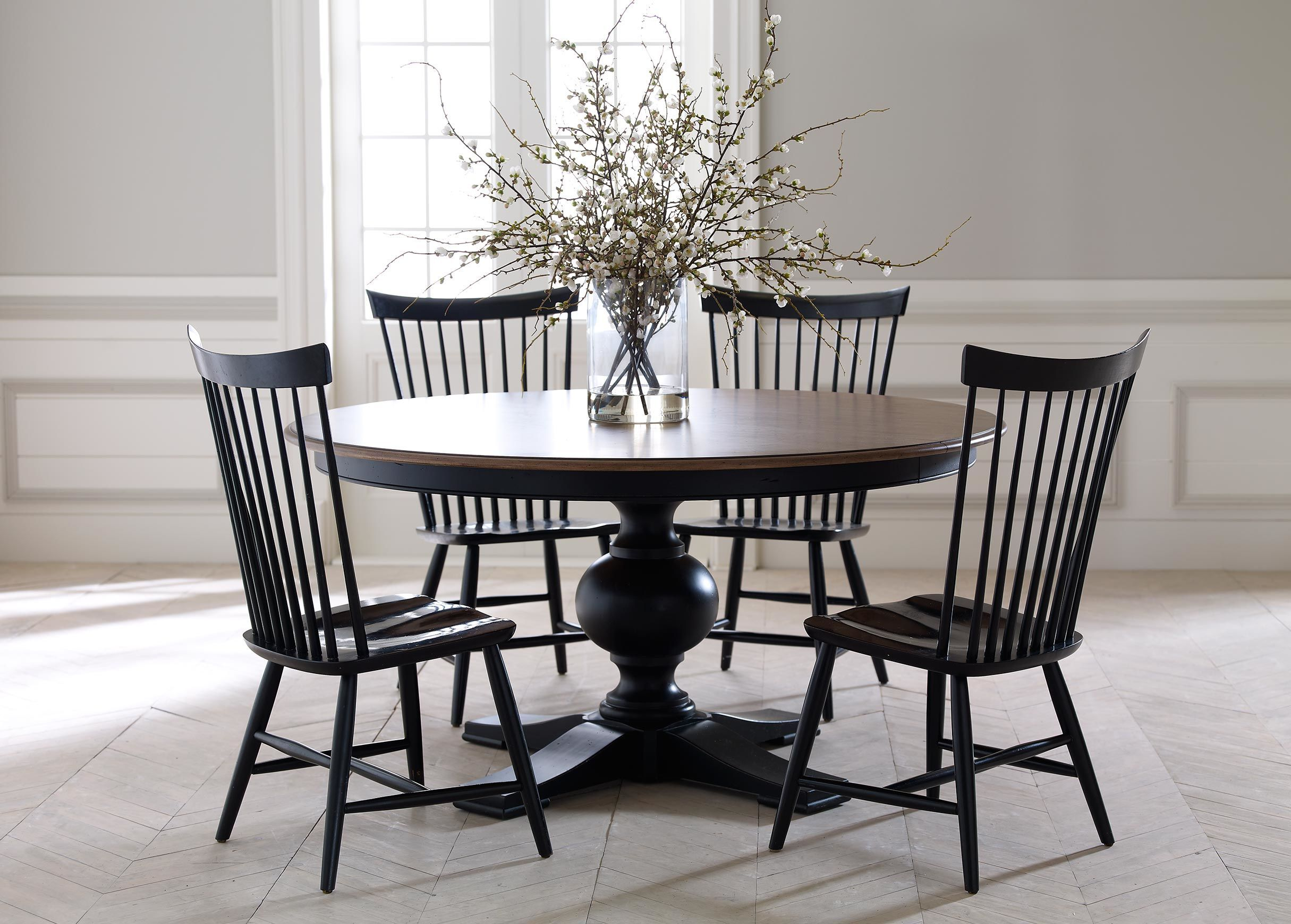 Berkshire Side Chair Round Dining Room Round Dining Room Table