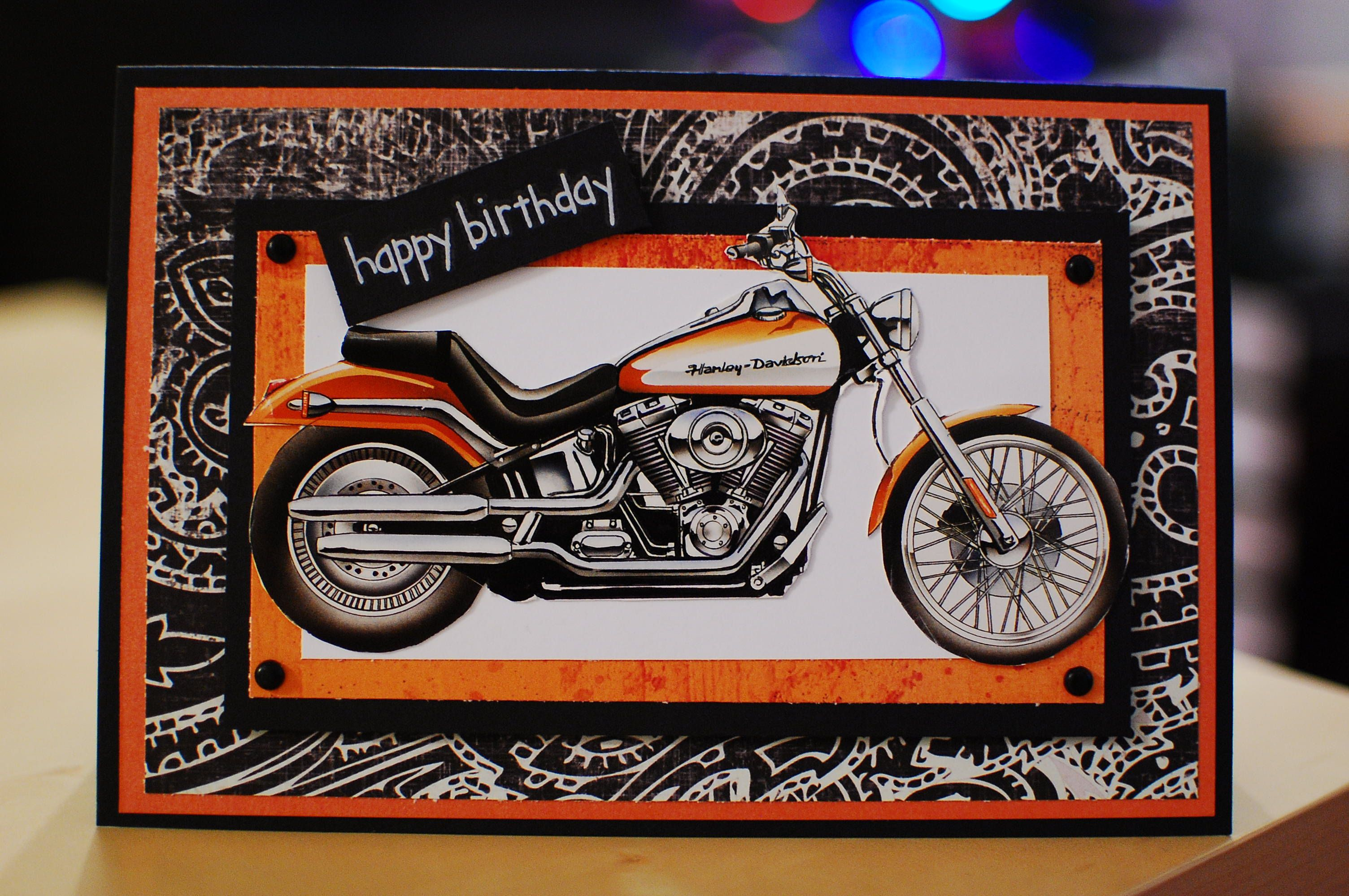 Harley davidson birthday card favorite places spaces pinterest harley davidson birthday card m4hsunfo
