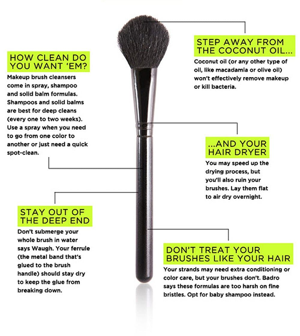 No Excuses, Y'all! 15 Easy Ways to Clean Makeup Brushes