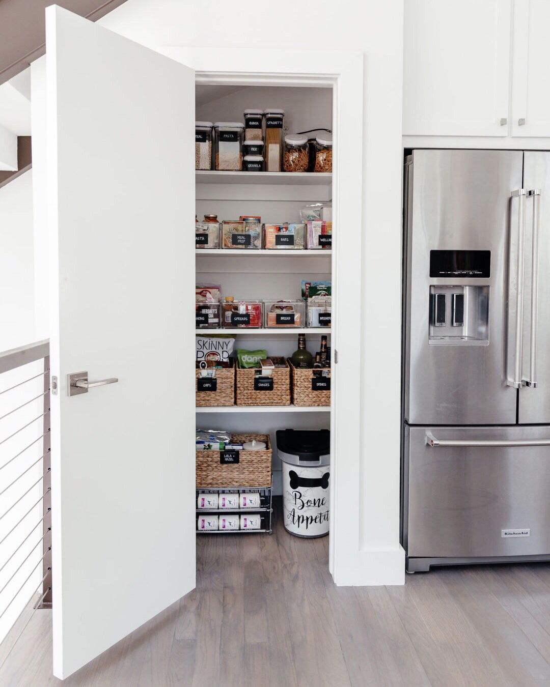 Neat Method Luxury Home Organizing Pantry Closet Design Small Kitchen Cupboards Closet Kitchen