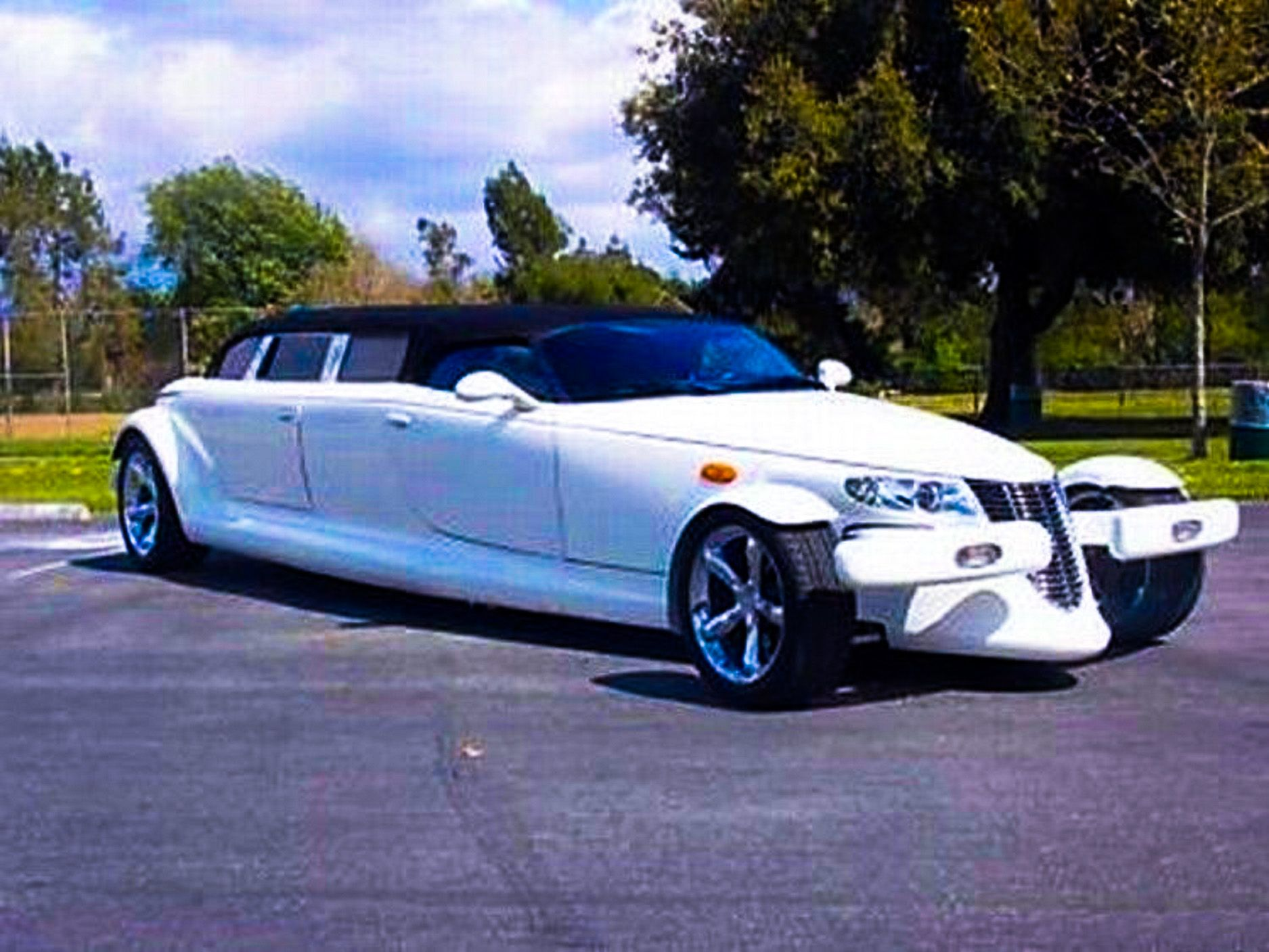 Plymouth Prowler Stretched Limousine. http://big-limos.com/custom ...