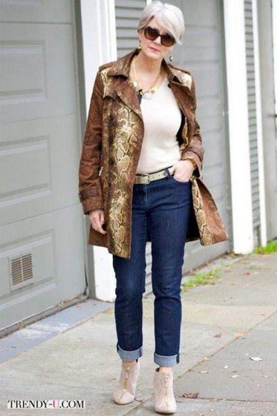 Возрастная мода (правильные джинсы) в 2019 г.  42fa11303aa5b