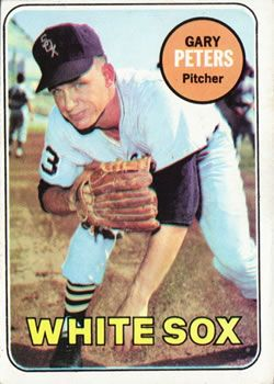 Image result for GARY PETERS BASEBALL 1969 CARD IMAGES