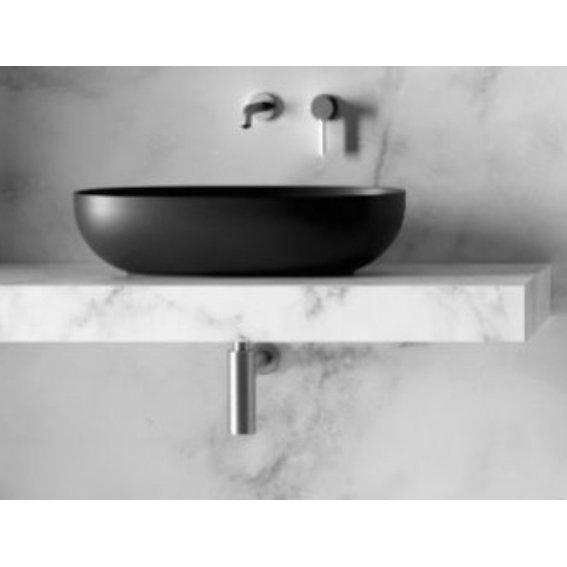 Pastatomas Ant Stalvirsio Praustuvas Alice Ceramica Form 60x35 H15 Santechninė Keramika Ir Rėmai Santechnika Vonios Kambariui Ceramica Ants Sink