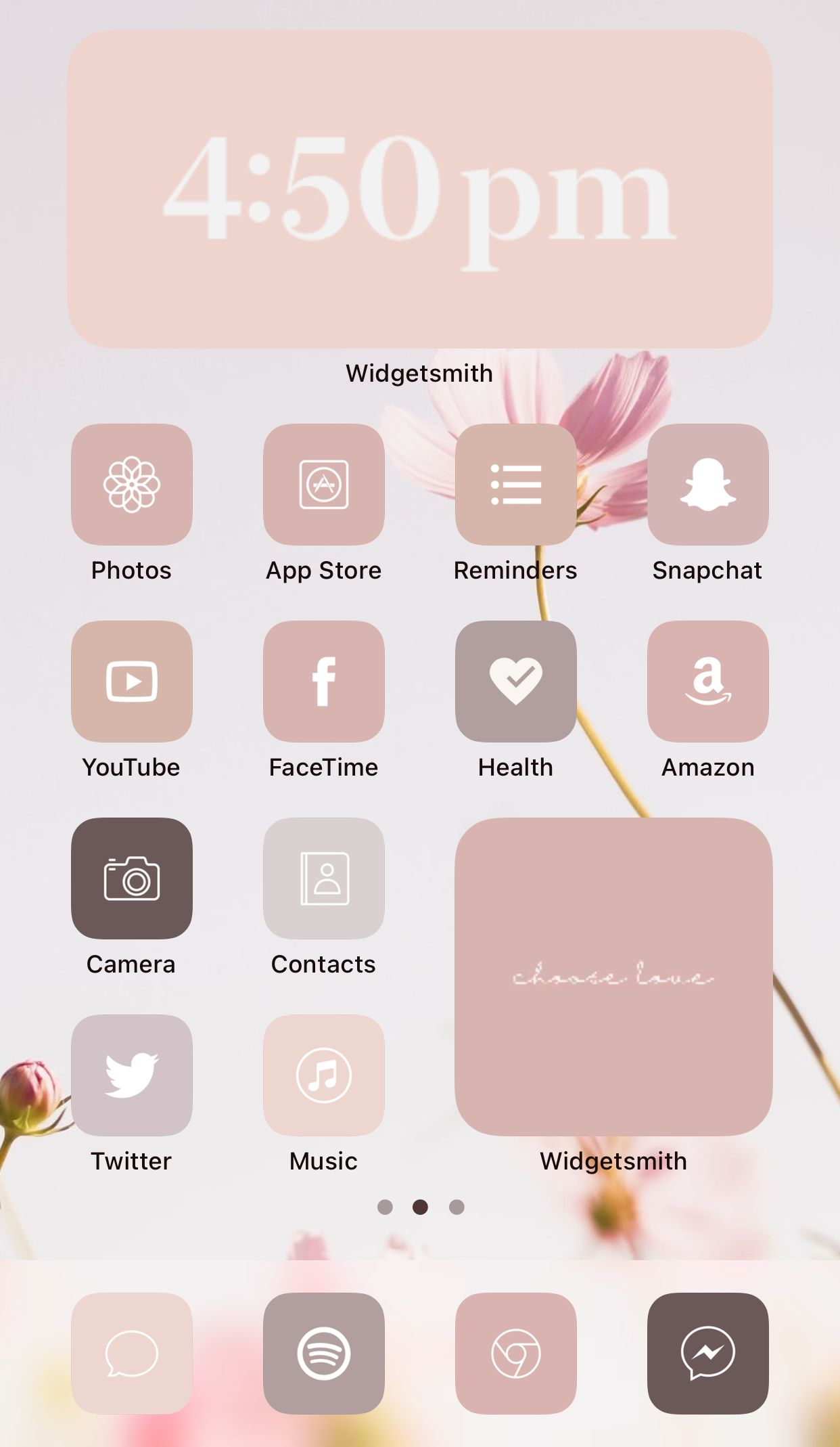 Aesthetic Iphone App Icon Home Screen Ideas Inspo Inspiration App Covers App Icons Ios 14 Widget In 2020 Iphone Home Screen Layout Ios App Icon Iphone App Design