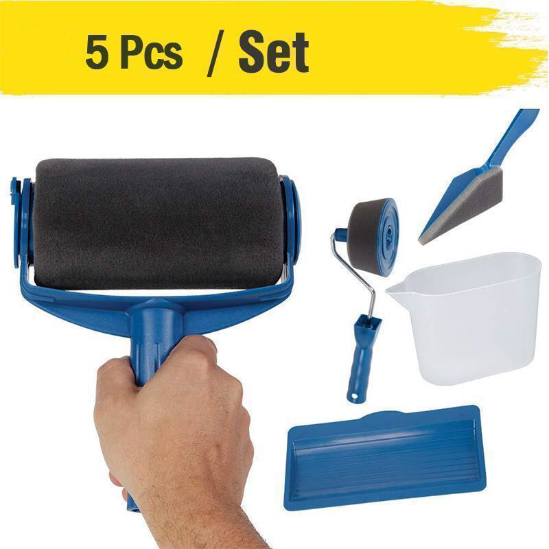 Paint Roller Brush Painting Handle Tool Paint Roller Roller Brush Furniture Renovation
