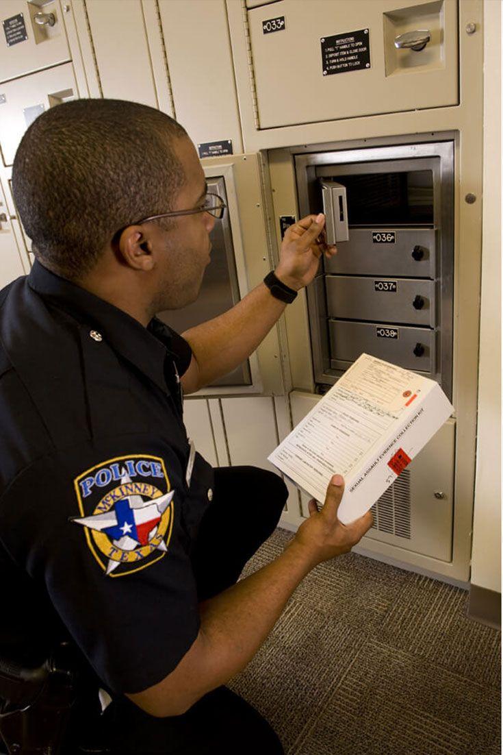 Mckinney pd maintains efficient evidence storage