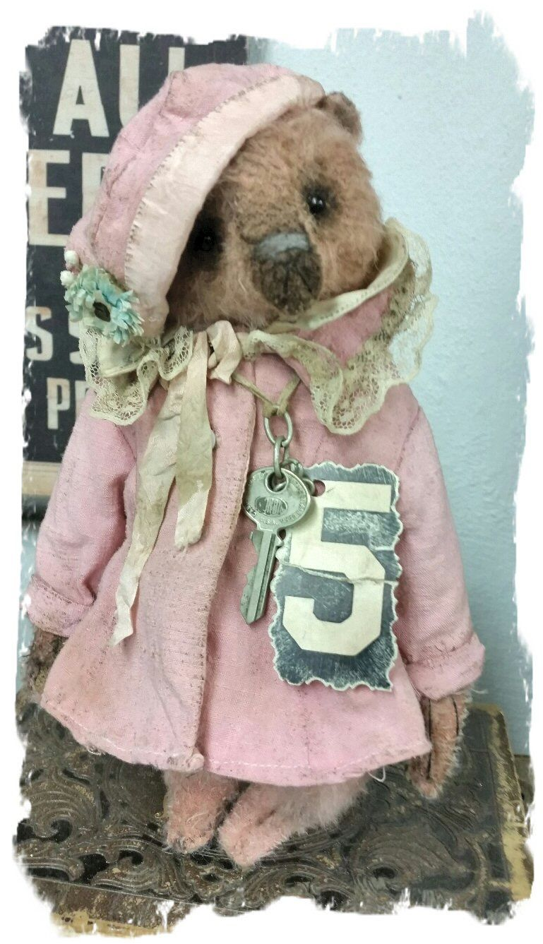 Vintage & Whimsical Original Copyright Collectible Soft Sculpture Art by Artist/Designer Wendy Meagher