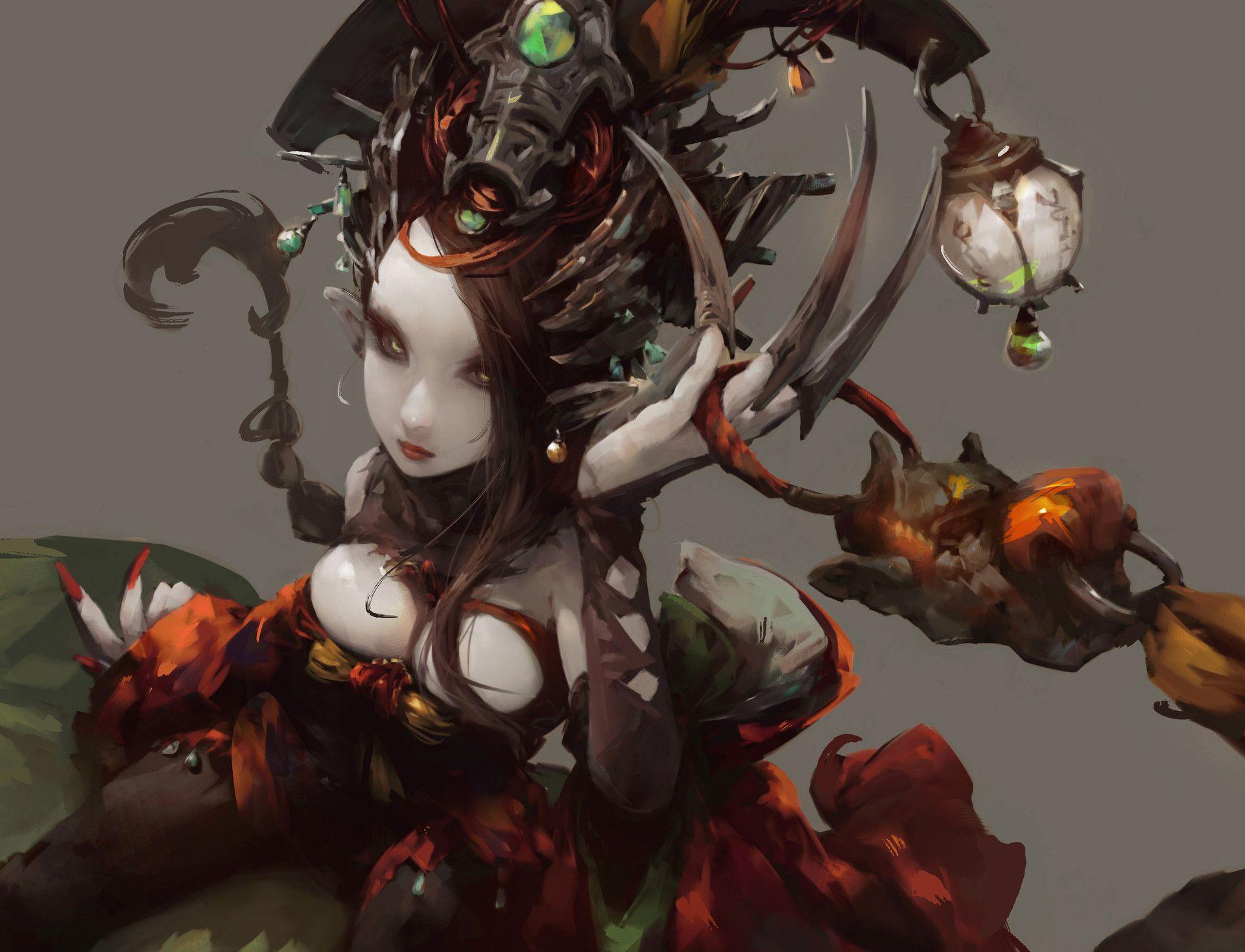 ArtStation - 鐵扇公主 - Princess Iron Fan, HJ Huang