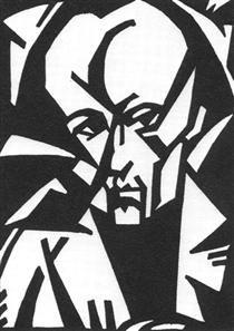 Sándor Bortnyik (1893-1976) was een Hongaarse schilder en grafisch ontwerper . Zijn werk werd sterk beïnvloed door Cubisme , Expressionisme en Constructivisme . Hij verhuisde naar Weimar in 1922 en was verbonden met het Bauhaus . Toen hij terugkeerde naar Hongarije, stichtte hij een kunstschool in Boedapest, waar hij Bauhaus-principes volgde.