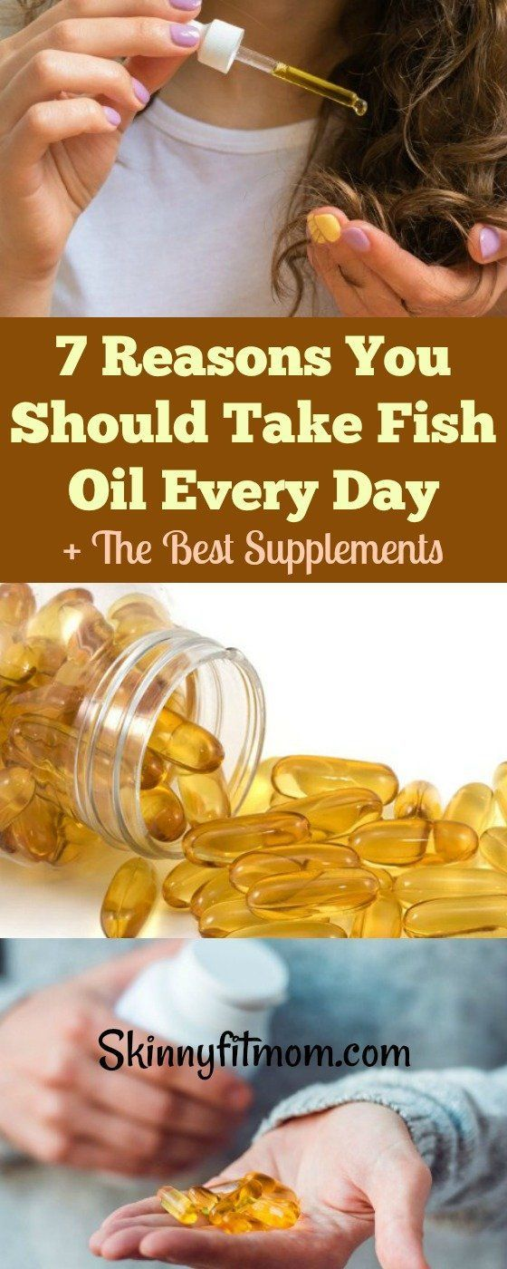 7 Reasons You Should Take Fish Oil Every Day + The Best