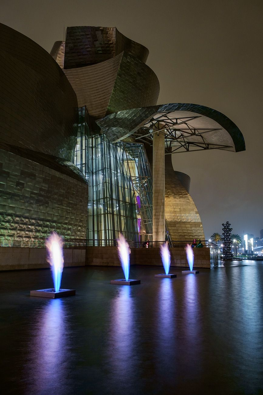 fire fountain by yves klein fuji x e1 and 14mm lens bilbao pinterest. Black Bedroom Furniture Sets. Home Design Ideas