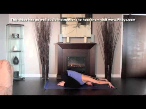 yoga child pose audio instructions only available only at
