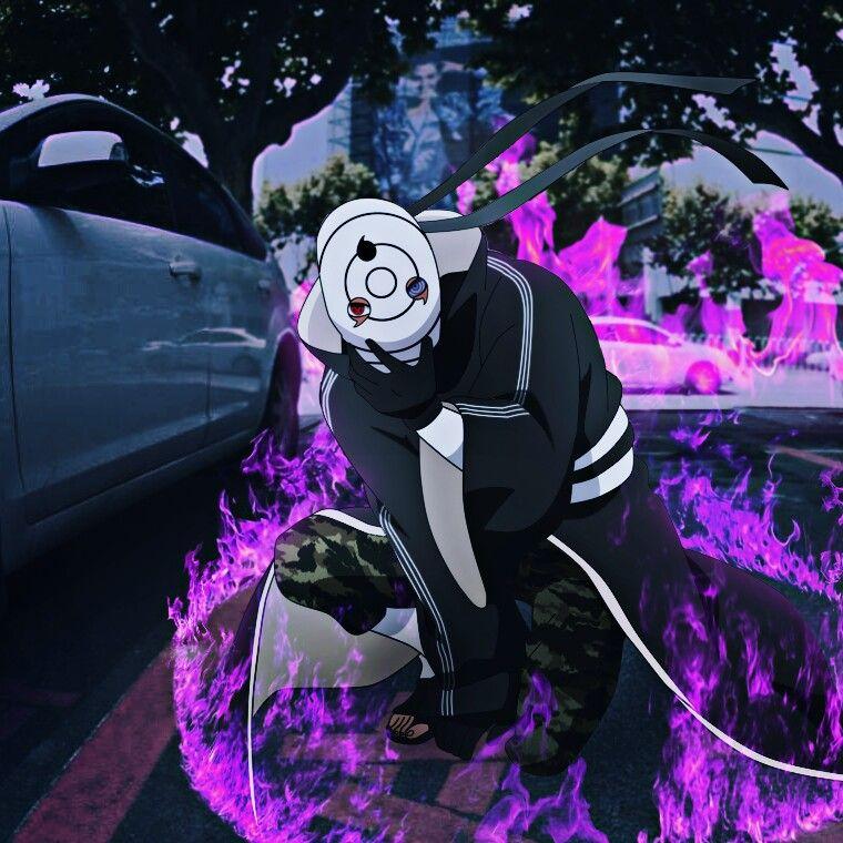 Tobi Flames Anime Anime Naruto Naruto Pictures