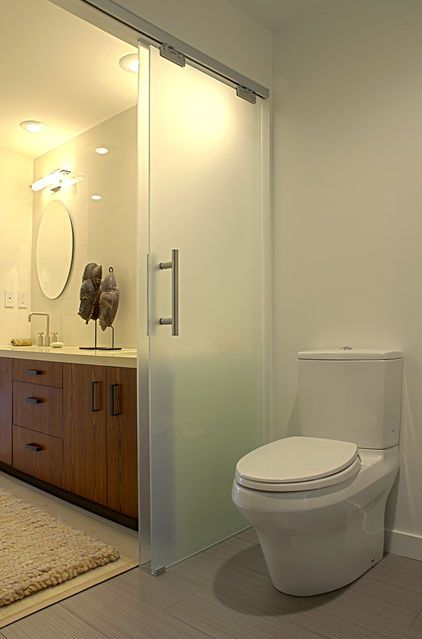Separate Toilet From Bathroom Google Search Sliding Door