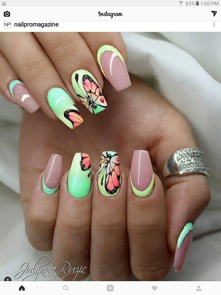 Pin von Elizabeth Roldao auf nails | Pinterest | Nageldesign und ...