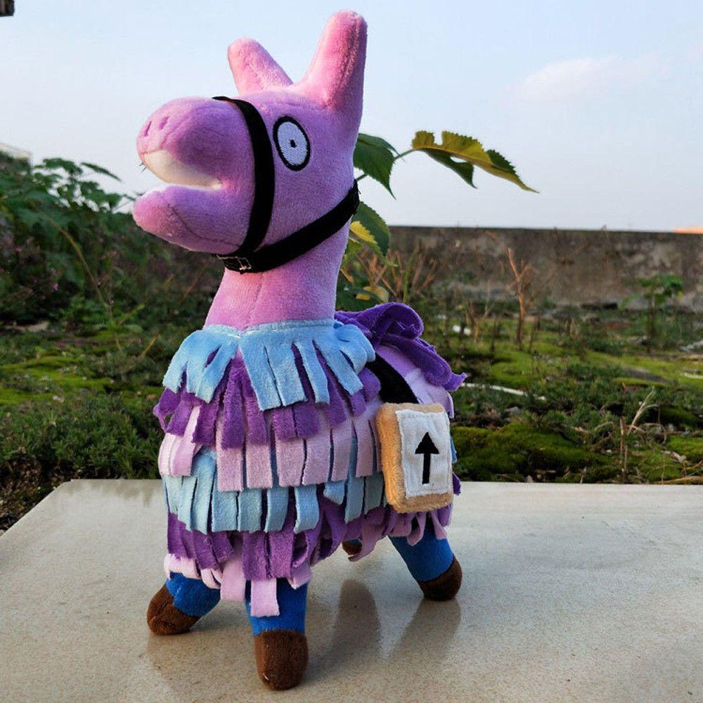 Hot Fortnite Loot Llama Plush Toy Figure Doll Soft Stuffed Animal