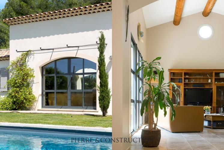 Construction du0027une villa provençale RT 2012 Cette maison provençale - location maison avec piscine dans le var
