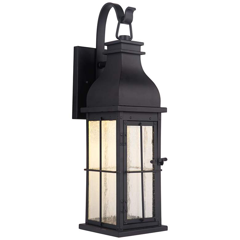 Craftmade Vincent 24 High Midnight Led Outdoor Wall Light 59k27 Lamps Plus Led Outdoor Wall Lights Outdoor Wall Lantern Outdoor Walls