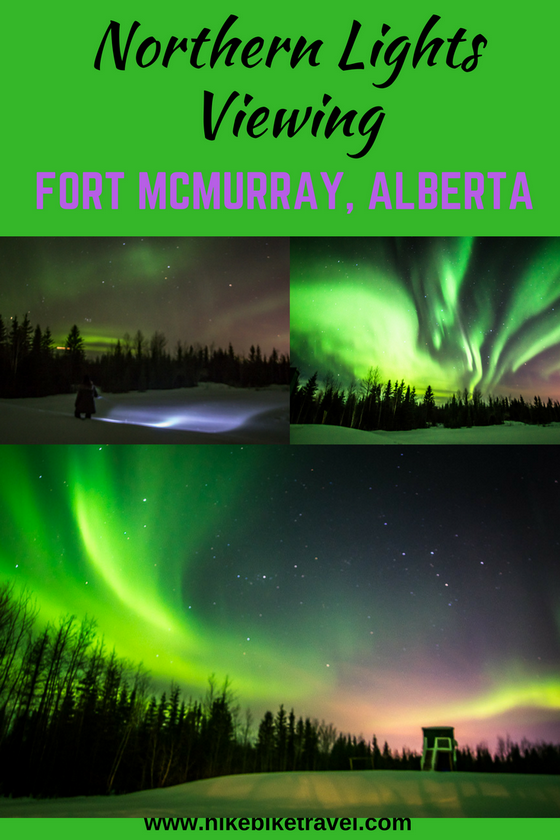 The Fort McMurray Northern Lights Viewing Experience