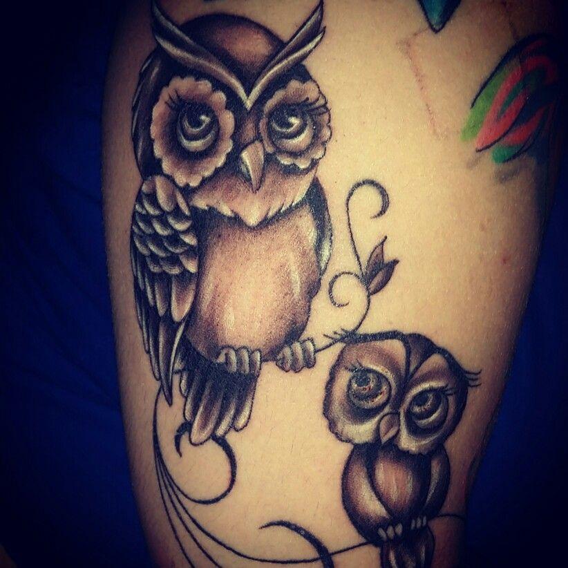 Mother Daughter Owls Tat Pics Dream Tattoos Tattoo