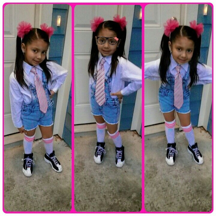 Nerd day for school | kids with swag