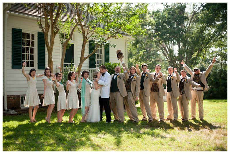 Camo Groomsmen Belle Isle State Park Wedding Janice Will Michelle Renee