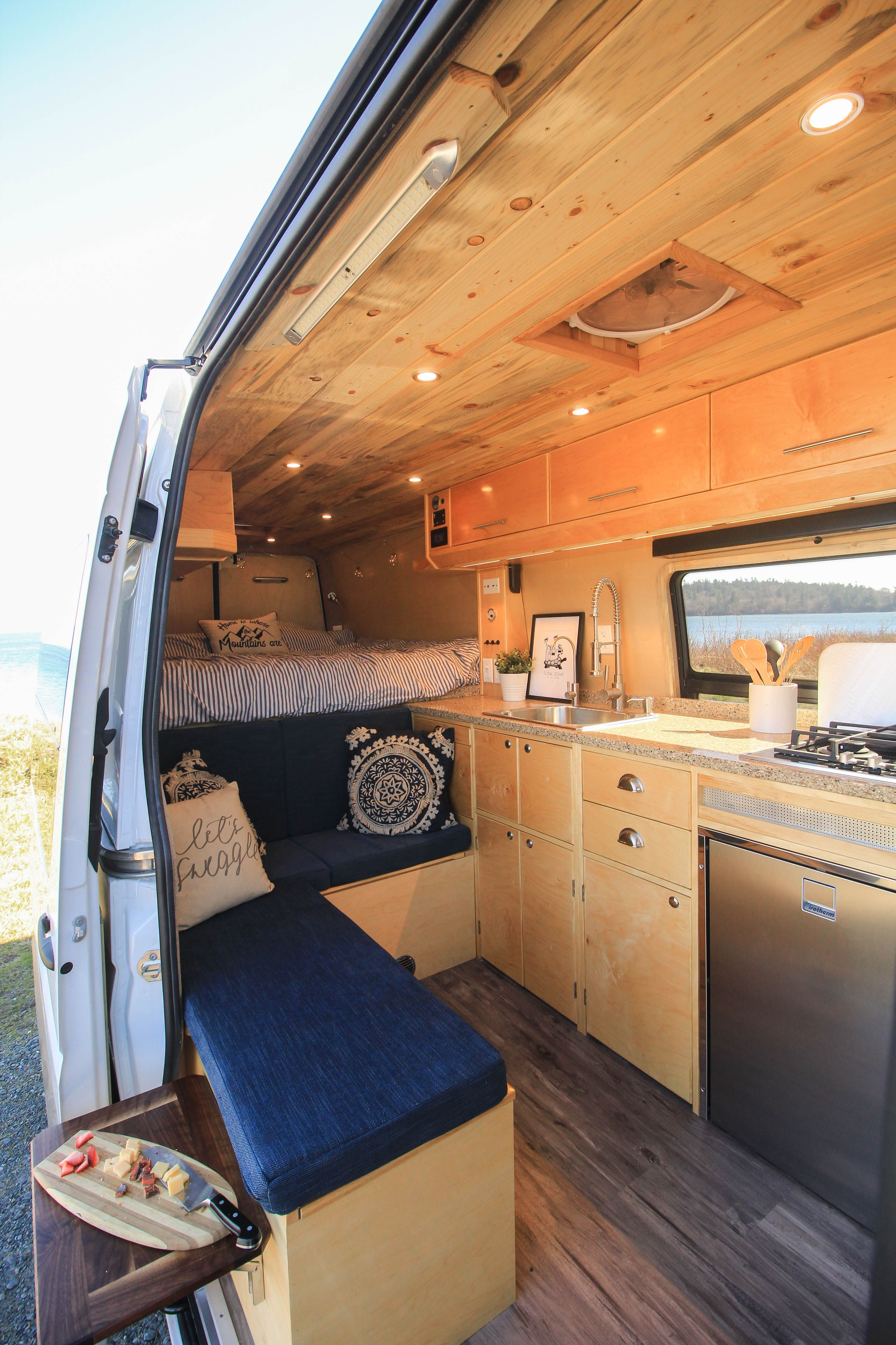 """Photo of Meet our newest completed build, """"Apollo""""! You can see more photos of this van c…"""