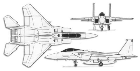 Identify These Military Aircraft in Schematic View
