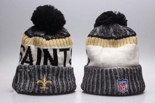 New Orleans Saints Winter Outdoor Sports Warm Knit Beanie Hat Pom ... 6e0f58bbc