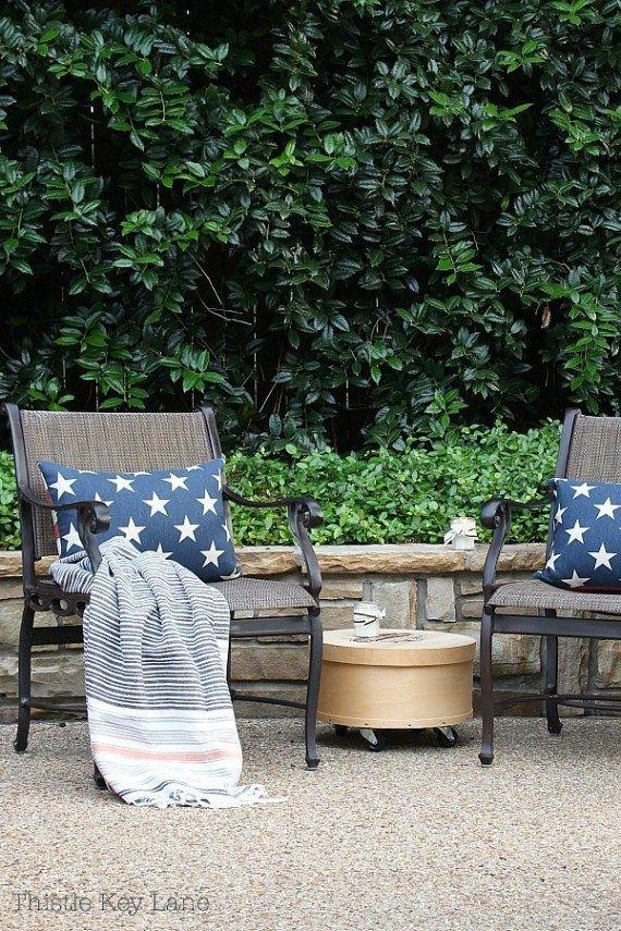 Summer Ready Patio And Garden Tour,  #Garden #Patio #Ready #relaxingsummerporchessmall #Summe... #relaxingsummerporches