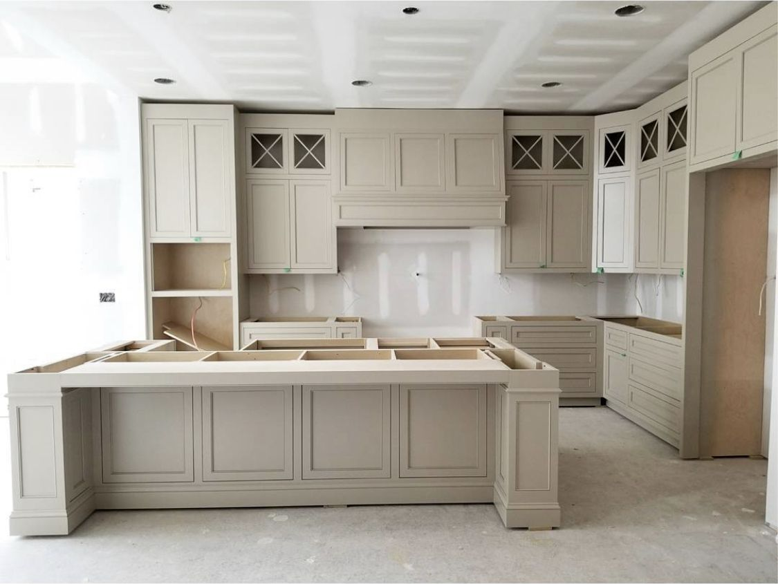 Kitchens In 2020 Beige Kitchen Taupe Kitchen Beige Kitchen Cabinets
