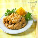 Braised tender chicken breast.