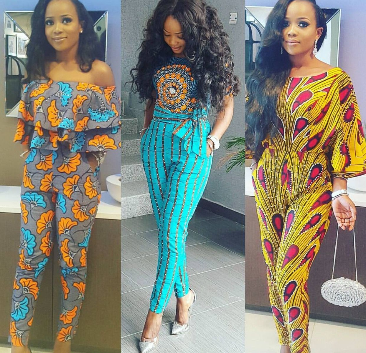 African fashion, Nigerian fashion, formal, Ankara, African prints ...