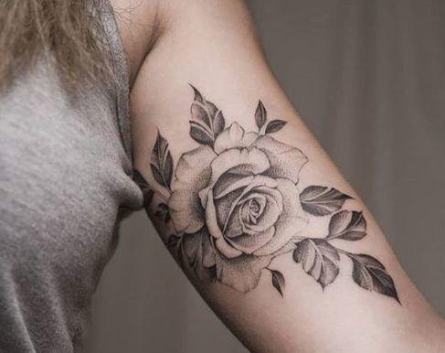 Tatuajes De Rosas Para Mujer Brazo Hombro 372 Fotos Tatuajes De Rosas Tatuajes Tatuajes Femeninos