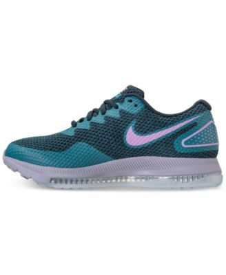 Nike Women s Zoom All Out Low 2 Running Sneakers from Finish Line - Blue 5.5 30db5607f