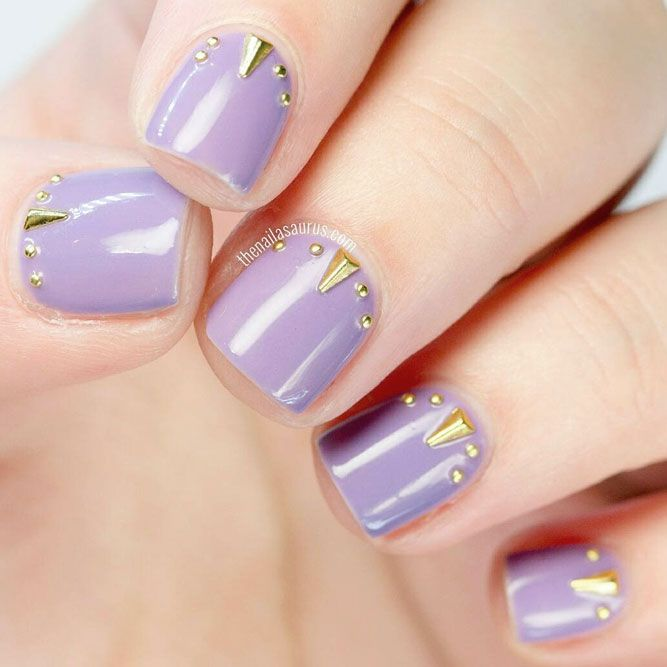 21 Simple Nail Designs For Short Nails To Do At Home Simple Nail