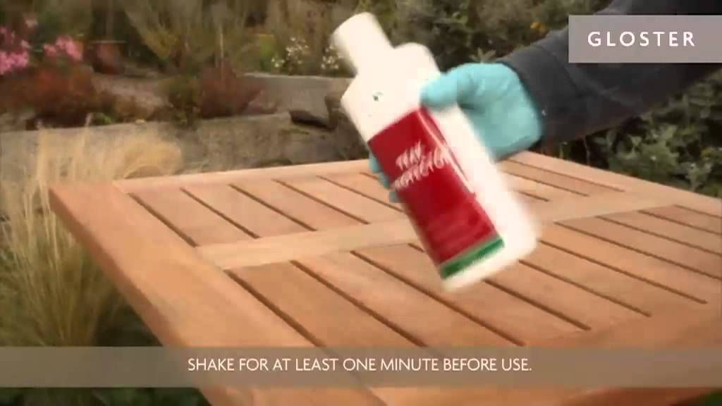 Attrayant Caring For Gloster Teak Products