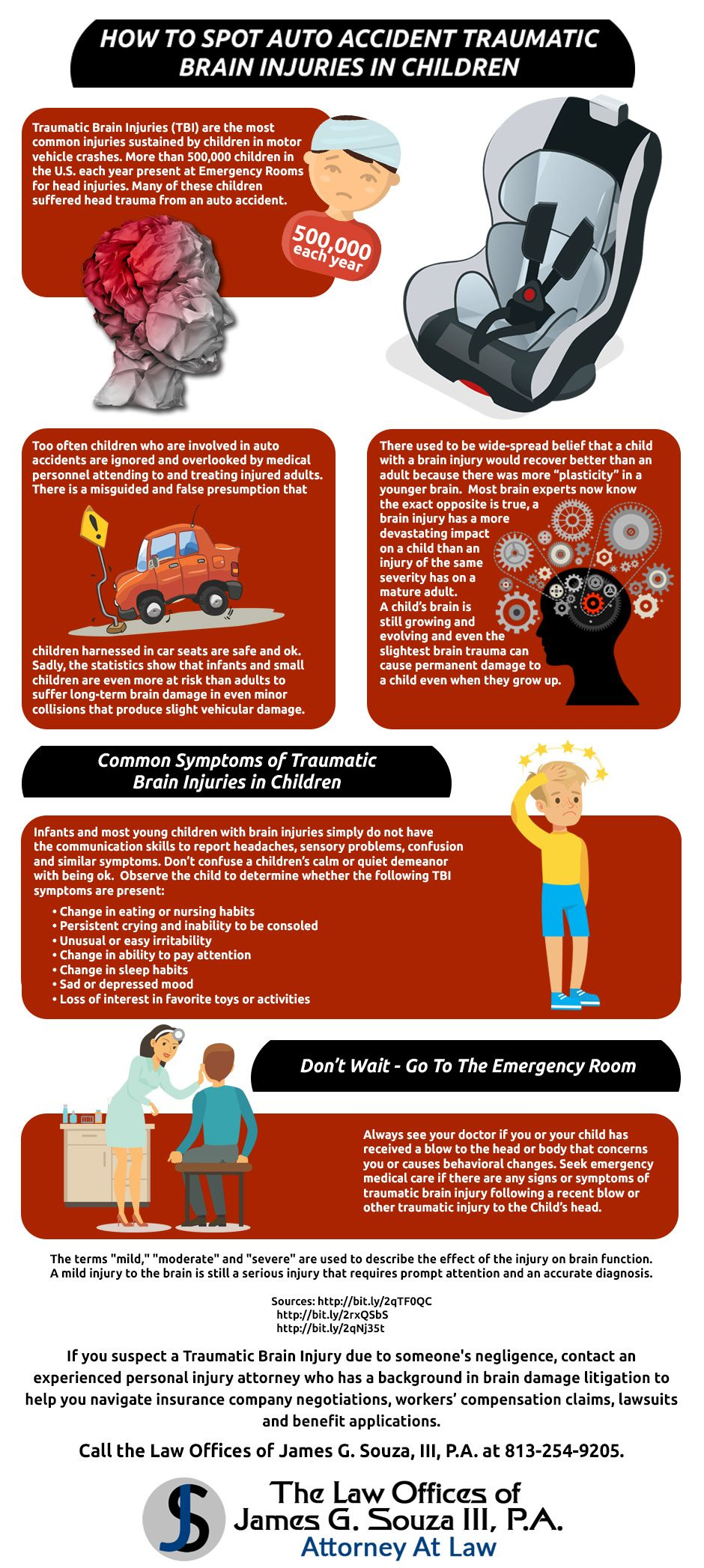 How to Spot Auto Accident Traumatic Brain Injuries in