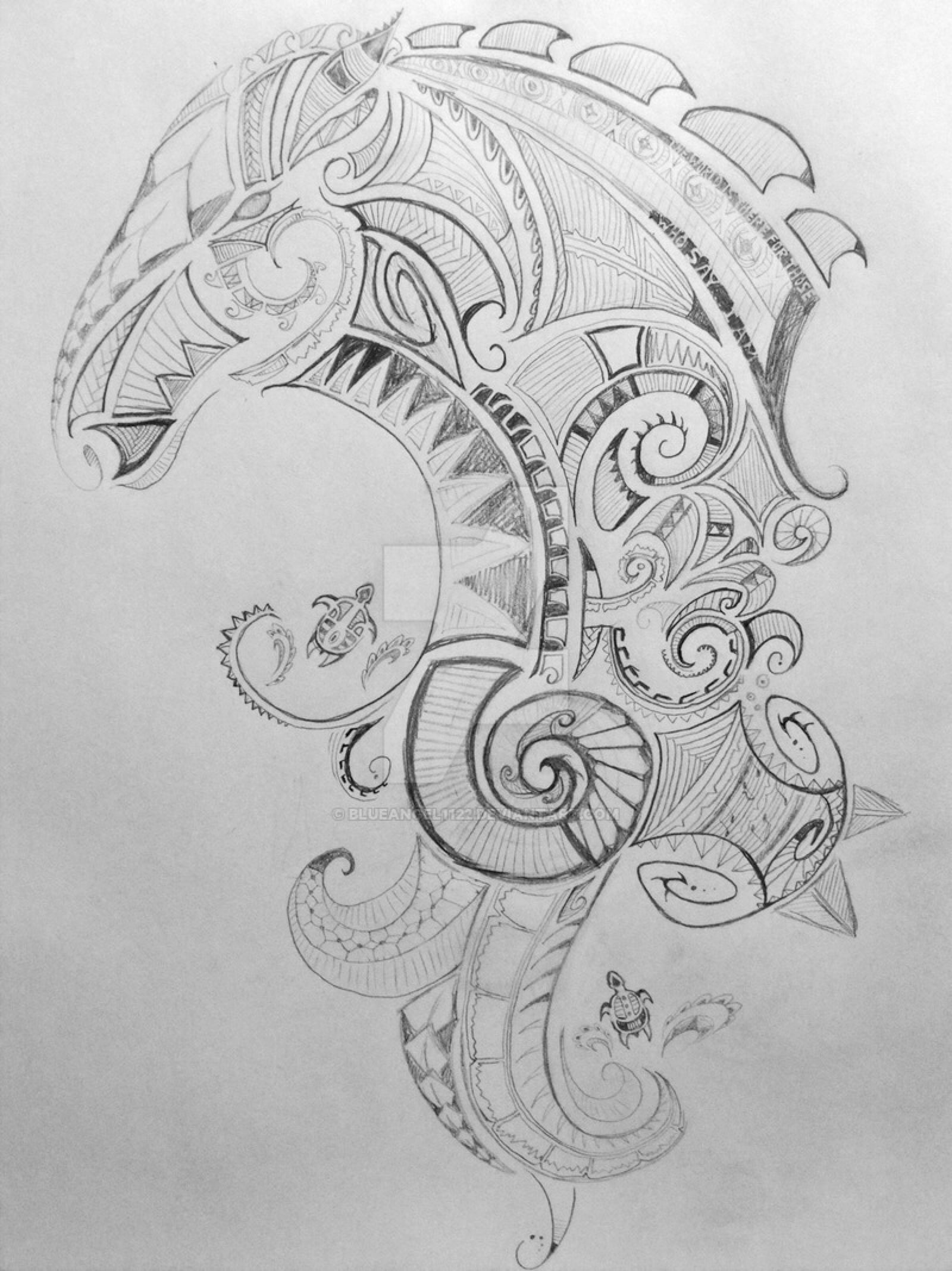 Maori Tattoo WIP By Blueangel1122 On @DeviantArt