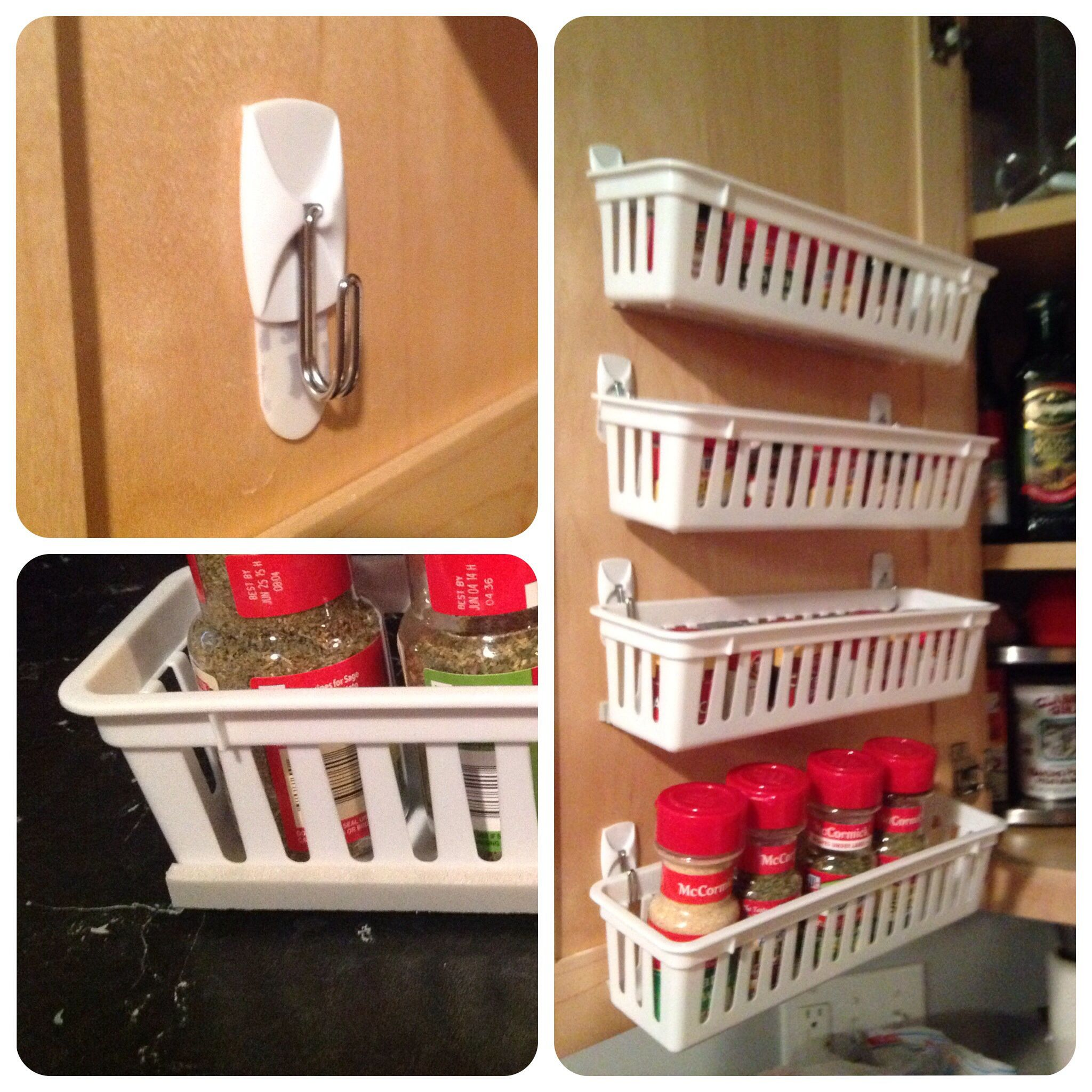 Diy Kitchen Spice Rack: 20 Spice Rack Ideas For Both Roomy And Cramped Kitchen