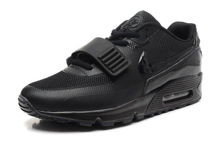 Nike Air Yeezy (II) 2 SP Max 90 Devil Series Western Women All Black
